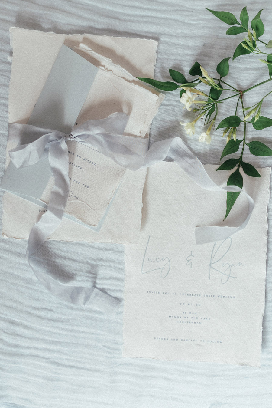 French Manor Styled Wedding Shoot in delicate blues, with Hannah McClune Photography on English Wedding Blog (33)