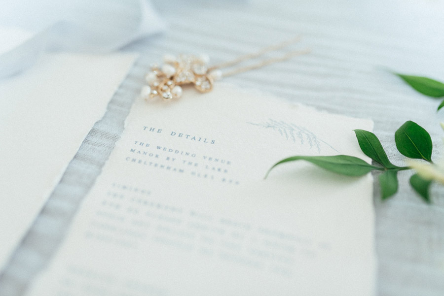 French Manor Styled Wedding Shoot in delicate blues, with Hannah McClune Photography on English Wedding Blog (35)