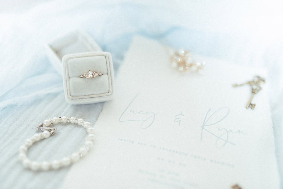 French Manor Styled Wedding Shoot in delicate blues, with Hannah McClune Photography on English Wedding Blog (36)