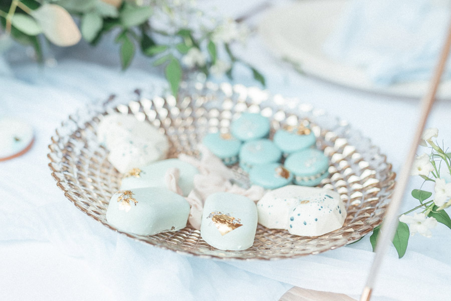 French Manor Styled Wedding Shoot in delicate blues, with Hannah McClune Photography on English Wedding Blog (40)