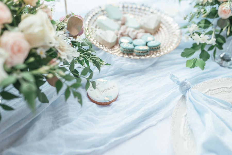 French Manor Styled Wedding Shoot in delicate blues, with Hannah McClune Photography on English Wedding Blog (41)