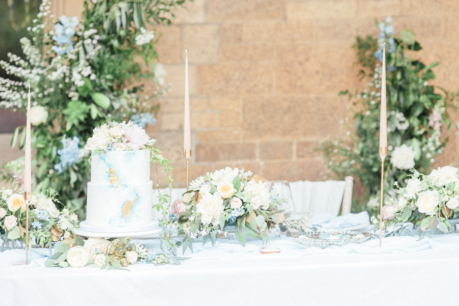 French Manor Styled Wedding Shoot in delicate blues, with Hannah McClune Photography on English Wedding Blog (43)