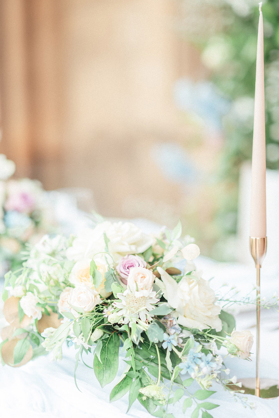 French Manor Styled Wedding Shoot in delicate blues, with Hannah McClune Photography on English Wedding Blog (45)