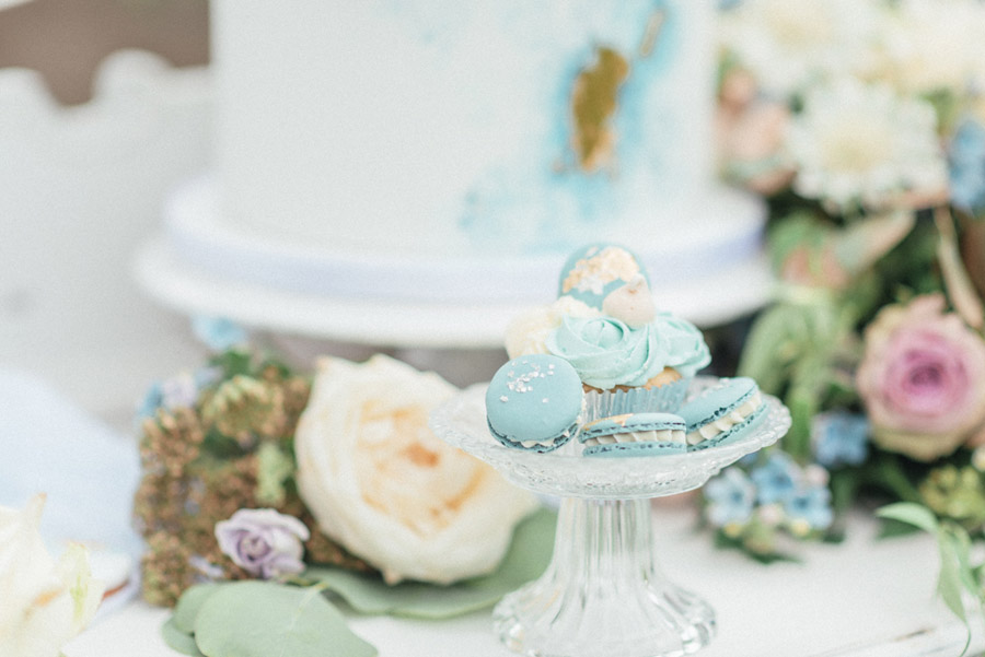 French Manor Styled Wedding Shoot in delicate blues, with Hannah McClune Photography on English Wedding Blog (50)