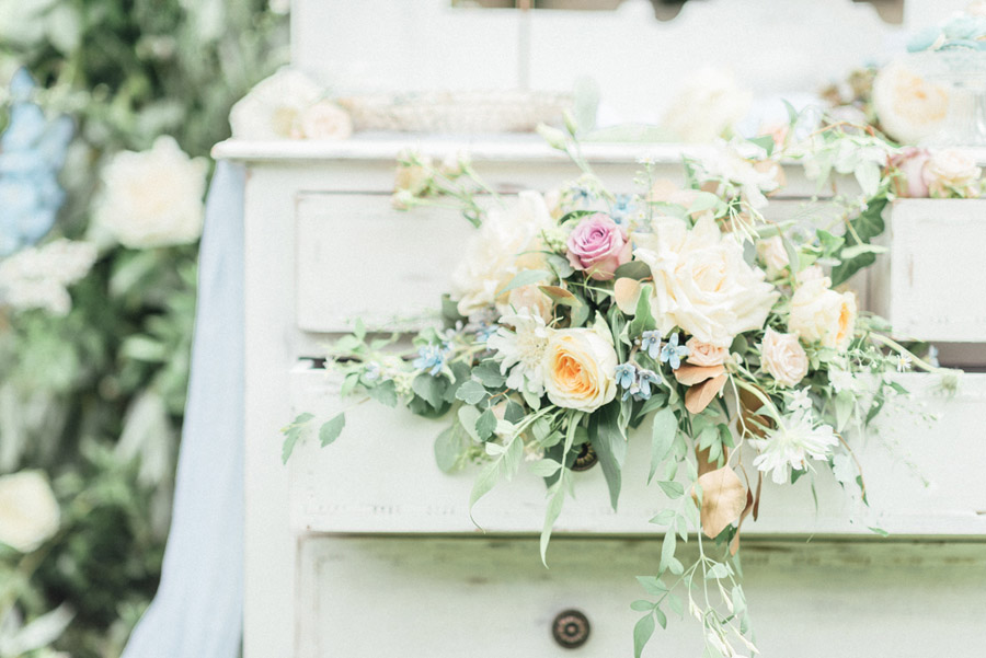 French Manor Styled Wedding Shoot in delicate blues, with Hannah McClune Photography on English Wedding Blog (52)