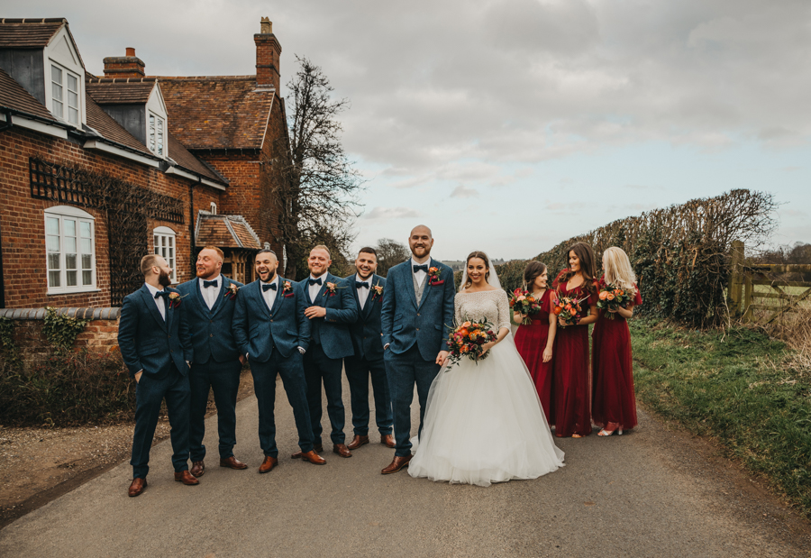 Sophie & Chris's beautiful English wedding at Curradine Barns, with Nellie Photography (27)