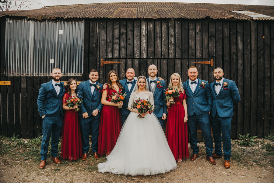 Sophie & Chris's beautiful English wedding at Curradine Barns, with Nellie Photography (28)