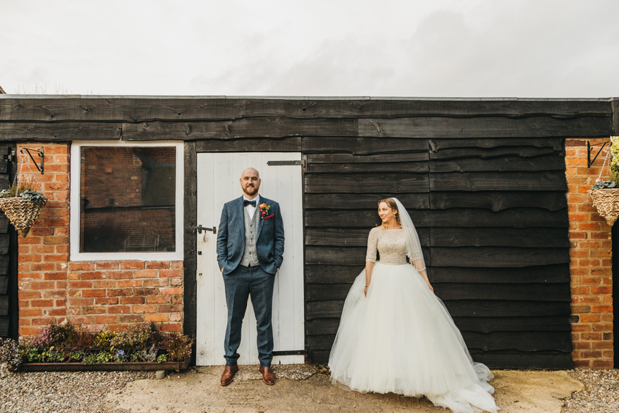 Sophie & Chris's beautiful English wedding at Curradine Barns, with Nellie Photography (30)