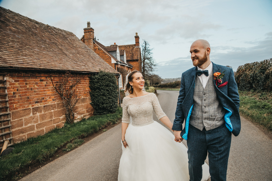 Sophie & Chris's beautiful English wedding at Curradine Barns, with Nellie Photography (35)