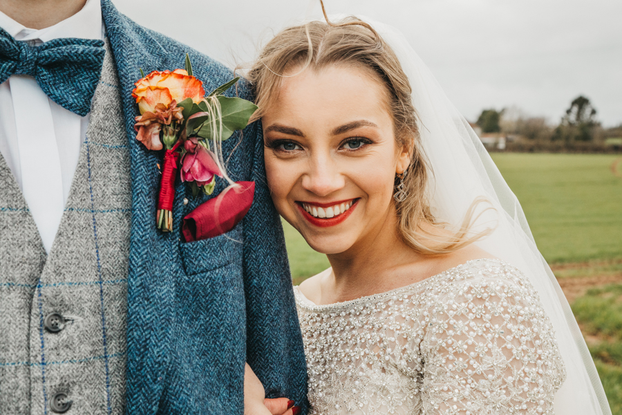 Sophie & Chris's beautiful English wedding at Curradine Barns, with Nellie Photography (38)