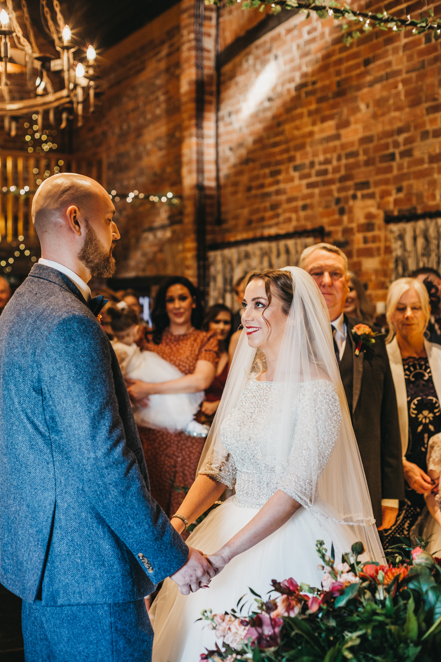 Sophie & Chris's beautiful English wedding at Curradine Barns, with Nellie Photography (24)