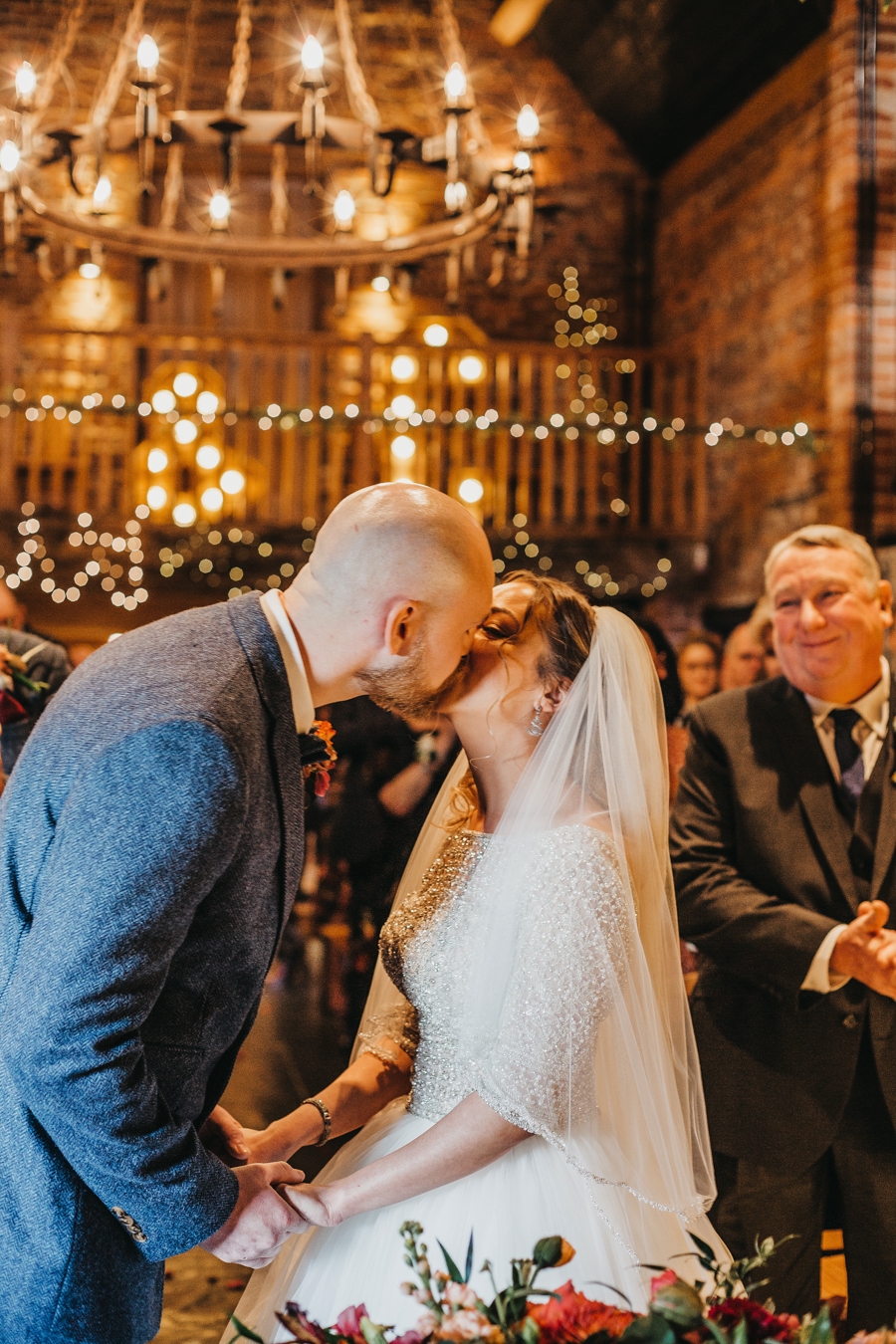 Sophie & Chris's beautiful English wedding at Curradine Barns, with Nellie Photography (25)