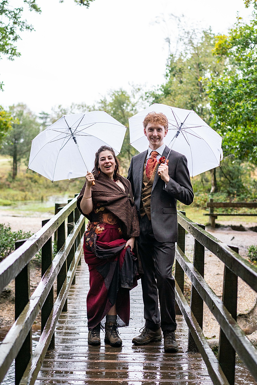 Ayla & Jake's beautiful woodland and village hall wedding in Hampshire, with Linus Moran Photography (17)