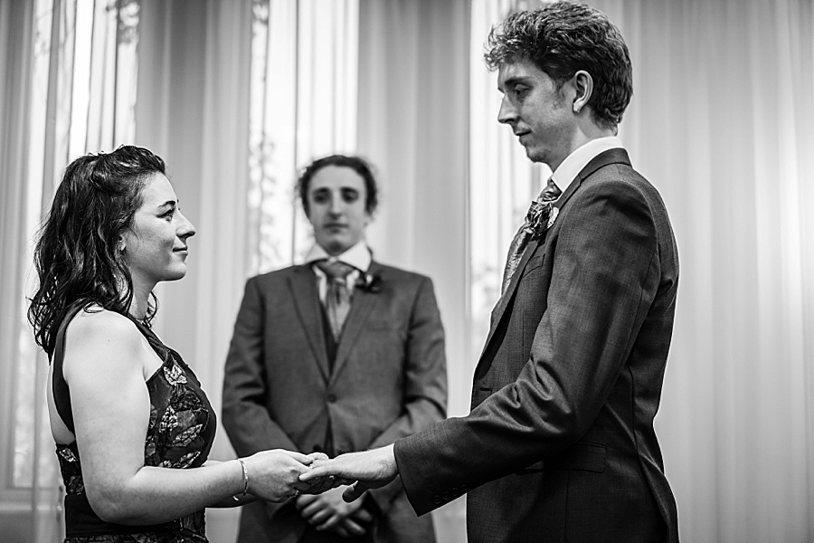 Ayla & Jake's beautiful woodland and village hall wedding in Hampshire, with Linus Moran Photography (20)