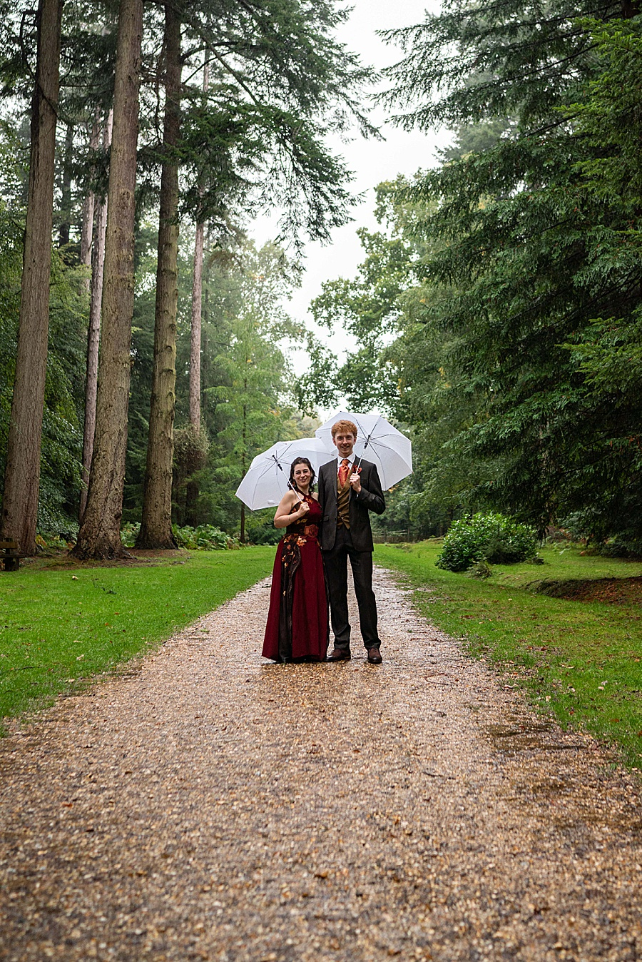 Ayla & Jake's beautiful woodland and village hall wedding in Hampshire, with Linus Moran Photography (33)