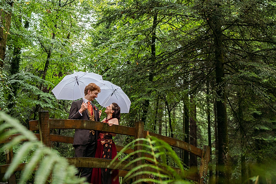 Ayla & Jake's beautiful woodland and village hall wedding in Hampshire, with Linus Moran Photography (35)
