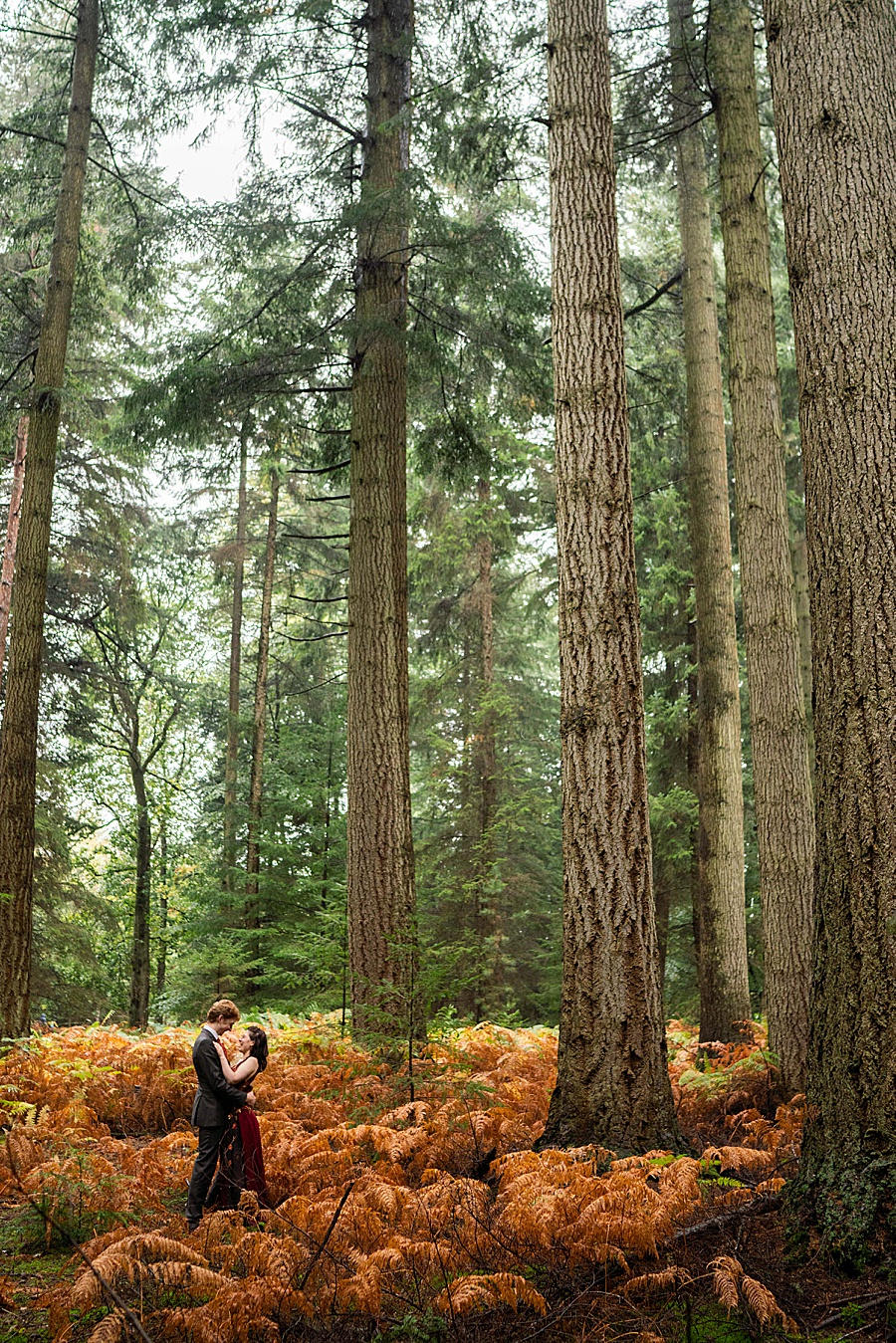 Ayla & Jake's beautiful woodland and village hall wedding in Hampshire, with Linus Moran Photography (37)