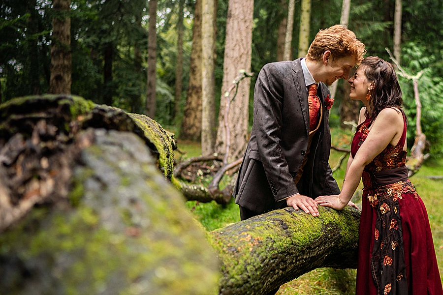 Ayla & Jake's beautiful woodland and village hall wedding in Hampshire, with Linus Moran Photography (44)