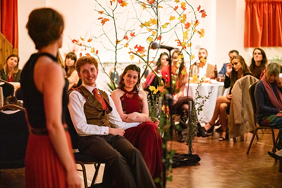Ayla & Jake's beautiful woodland and village hall wedding in Hampshire, with Linus Moran Photography (49)