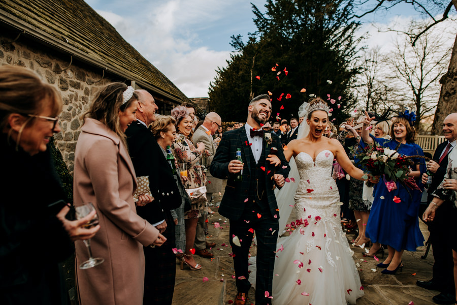 Tim & Emily's rustic and pretty Bolton Abbey wedding, with M and G Photography (25)
