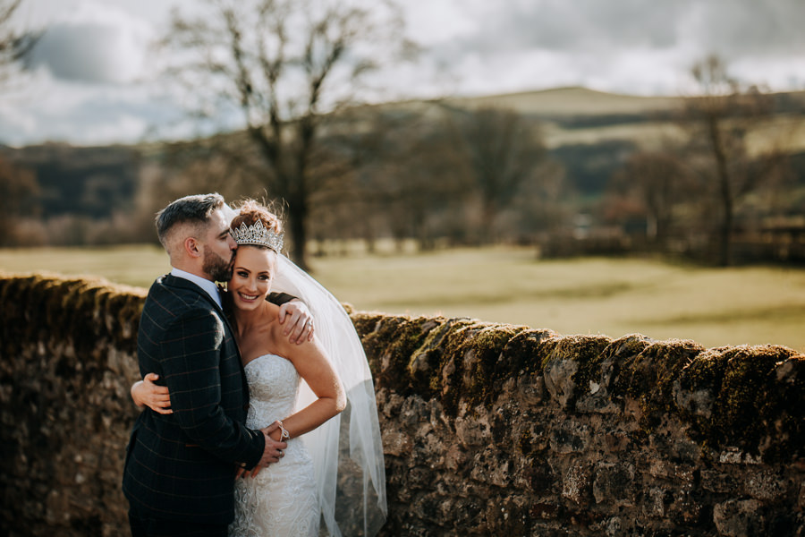 Tim & Emily's rustic and pretty Bolton Abbey wedding, with M and G Photography (39)