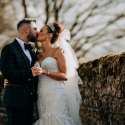 Tim & Emily's rustic and pretty Bolton Abbey wedding, with M and G Photography