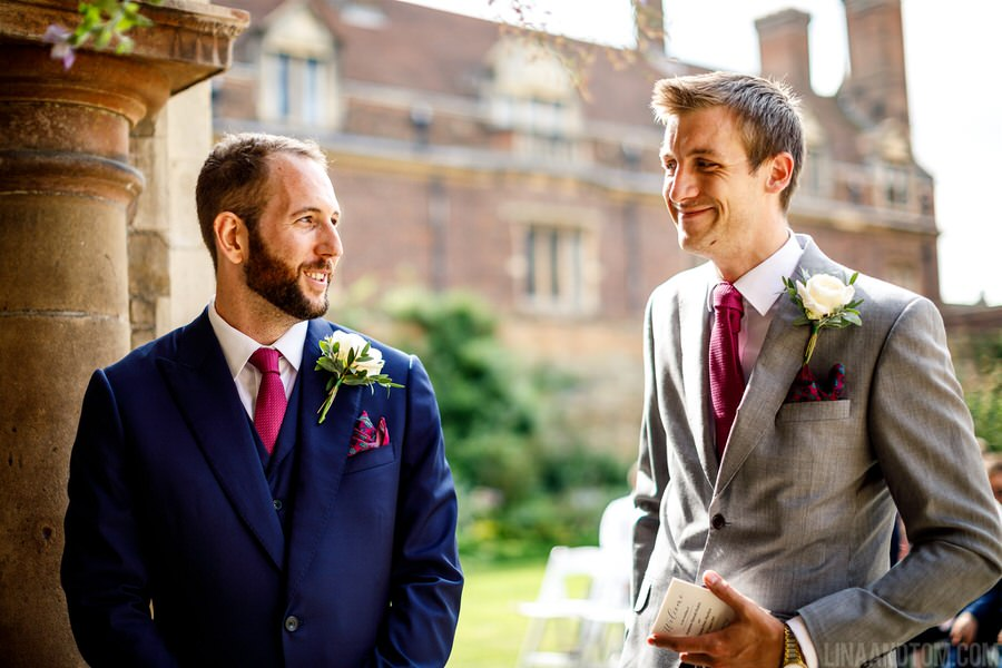 Steph & Tom's classic, timeless Magdalene College wedding, with photography by Lina and Tom (4)