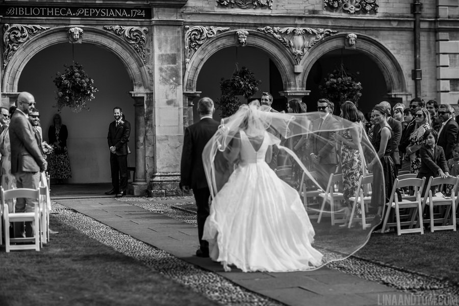 Steph & Tom's classic, timeless Magdalene College wedding, with photography by Lina and Tom (6)