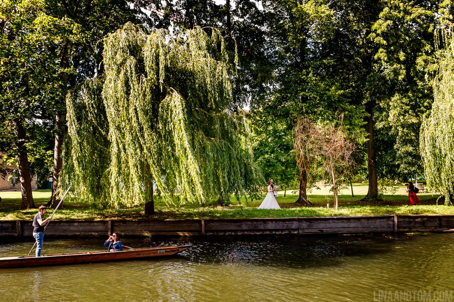 Steph & Tom's classic, timeless Magdalene College wedding, with photography by Lina and Tom (16)