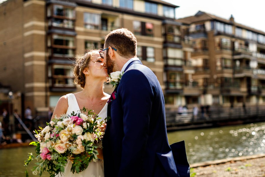 Steph & Tom's classic, timeless Magdalene College wedding, with photography by Lina and Tom (17)
