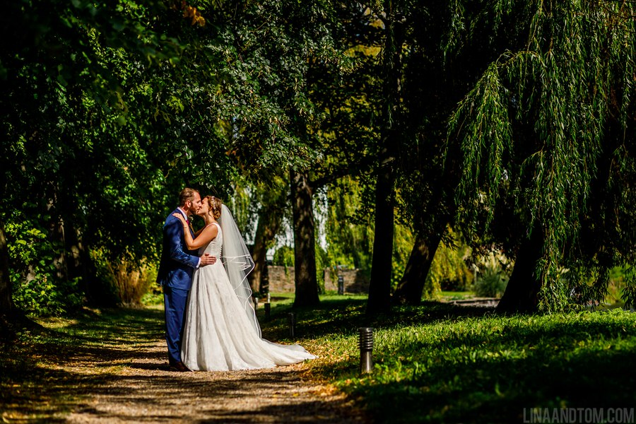 Steph & Tom's classic, timeless Magdalene College wedding, with photography by Lina and Tom (24)