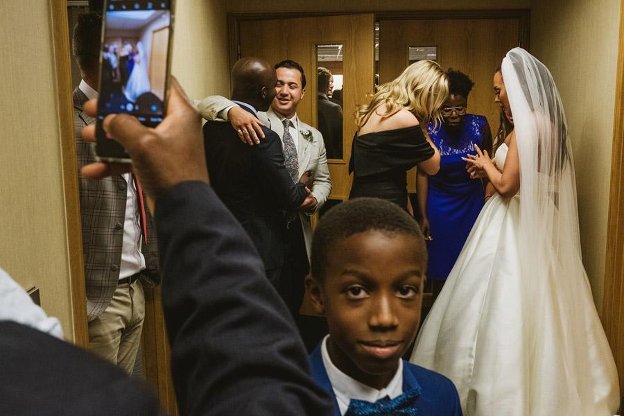 Olivia & Elliott's epic party of a London wedding at TT Liquor Whisky Bar, with York Place Studios (25)