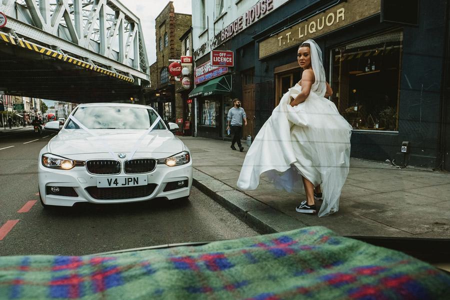 Olivia & Elliott's epic party of a London wedding at TT Liquor Whisky Bar, with York Place Studios (33)