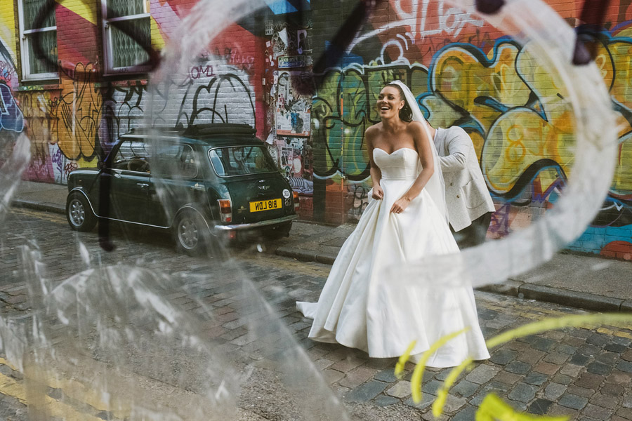 Olivia & Elliott's epic party of a London wedding at TT Liquor Whisky Bar, with York Place Studios (37)