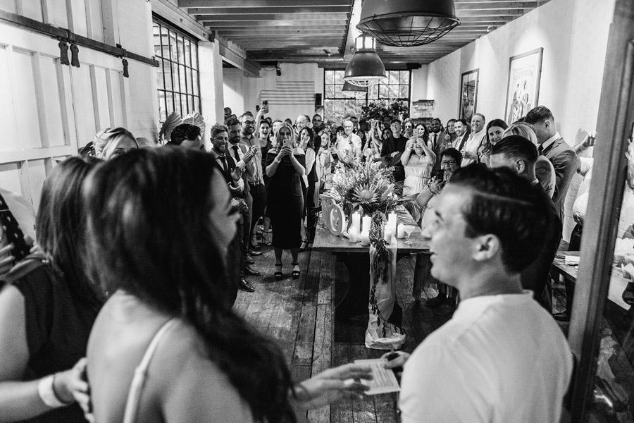 Olivia & Elliott's epic party of a London wedding at TT Liquor Whisky Bar, with York Place Studios (39)