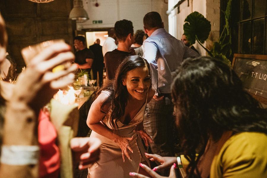 Olivia & Elliott's epic party of a London wedding at TT Liquor Whisky Bar, with York Place Studios (48)