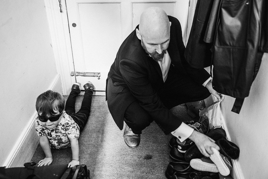 Rachael & Charlie's alternative family wedding at One Friendly Place, with York Place Studios (4)