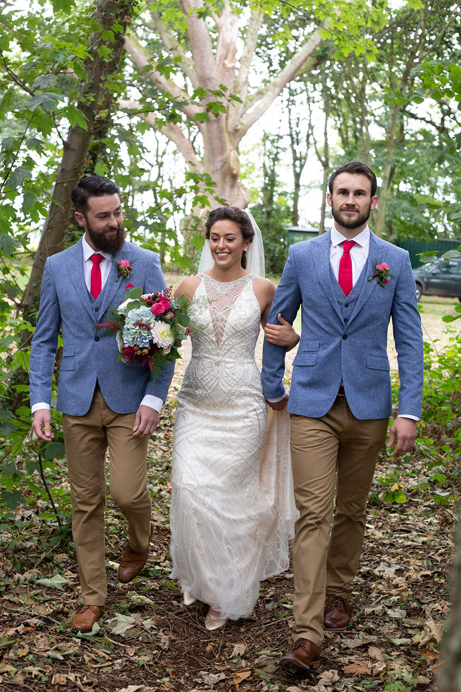 David and Samantha's creative and beautiful Sopley Lake wedding, with Katie Winter Photography (14)