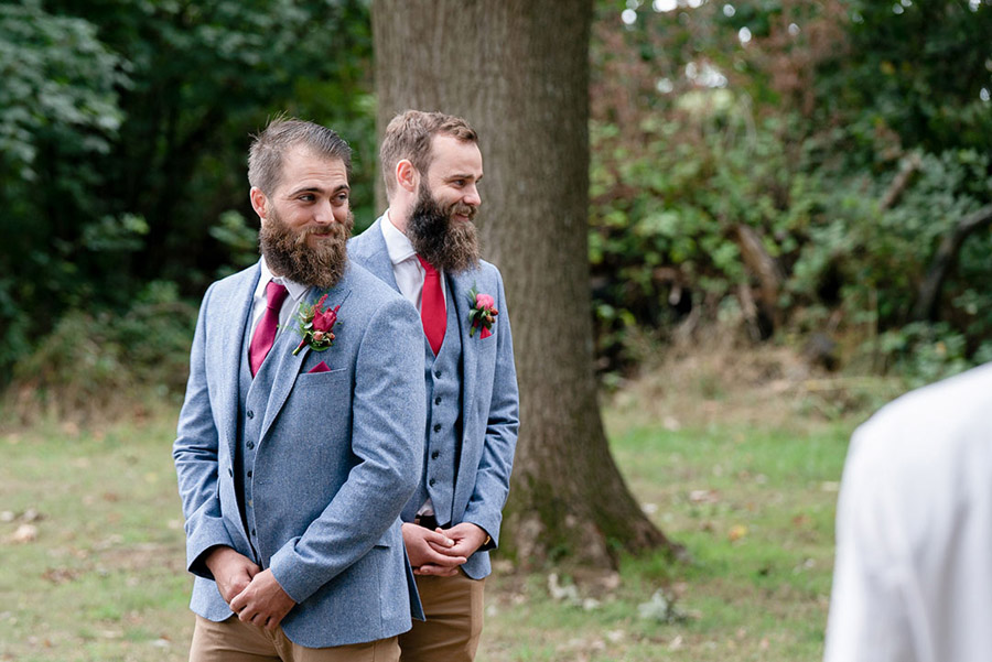 David and Samantha's creative and beautiful Sopley Lake wedding, with Katie Winter Photography (15)