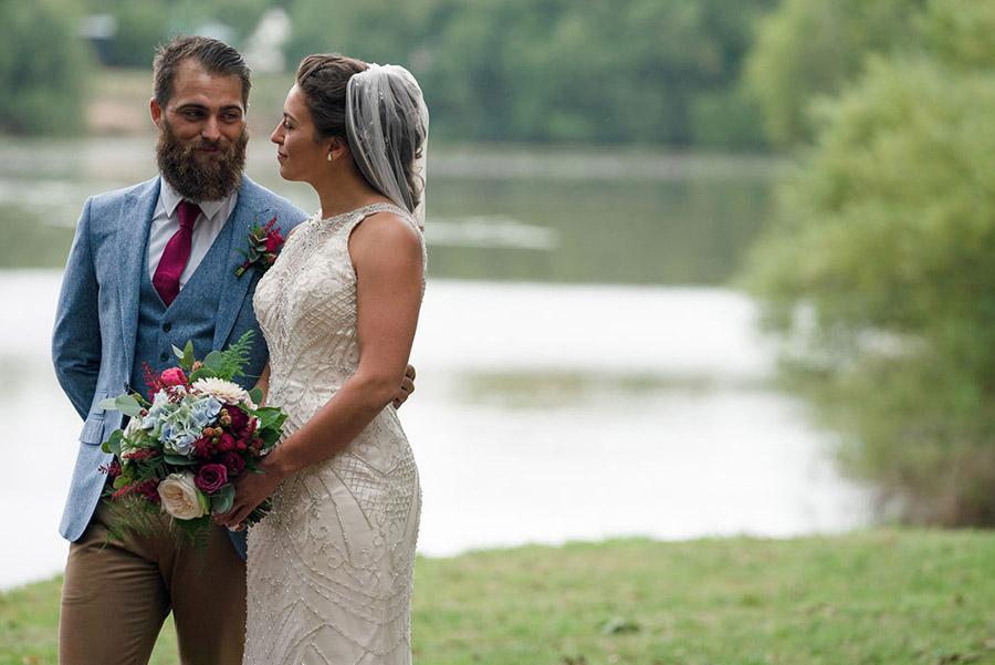 David and Samantha's creative and beautiful Sopley Lake wedding, with Katie Winter Photography (16)