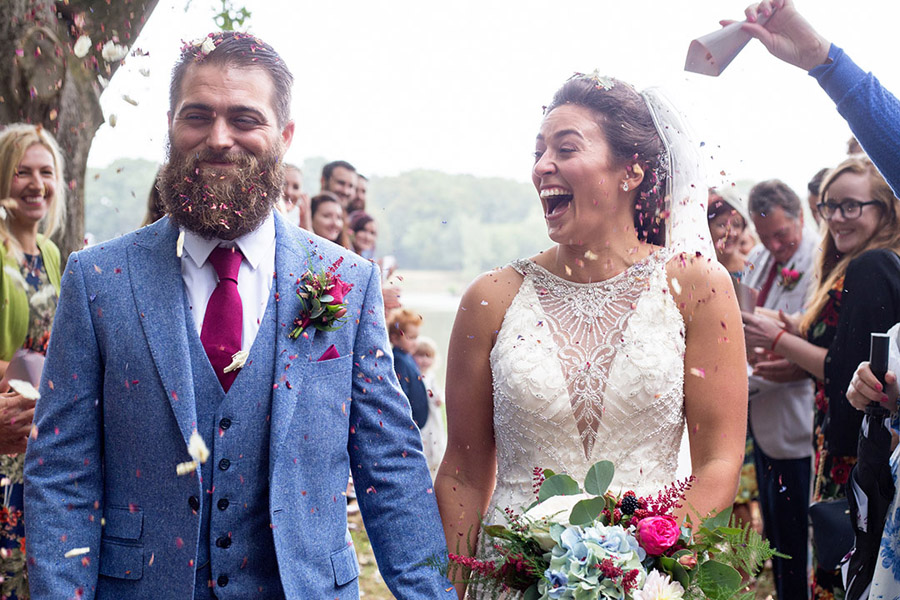 David and Samantha's creative and beautiful Sopley Lake wedding, with Katie Winter Photography (20)