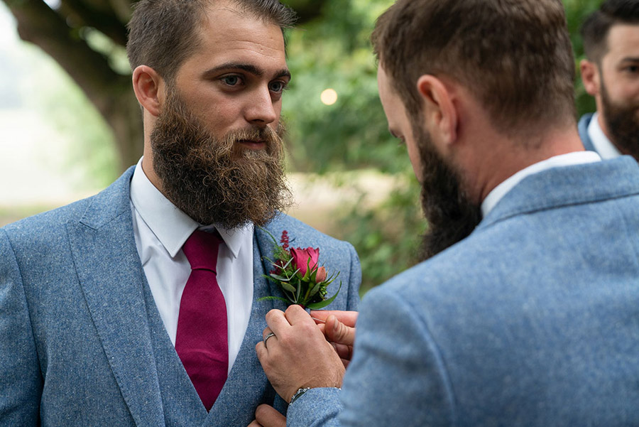 David and Samantha's creative and beautiful Sopley Lake wedding, with Katie Winter Photography (4)