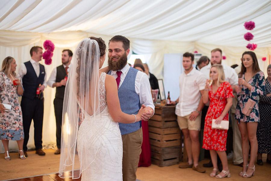 David and Samantha's creative and beautiful Sopley Lake wedding, with Katie Winter Photography (48)