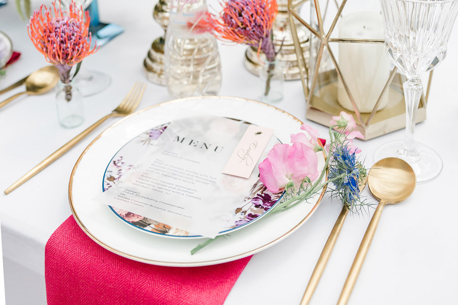 Modern intimate wedding styling inspiration from Slindon House, image credit Kelsie Scully (10)