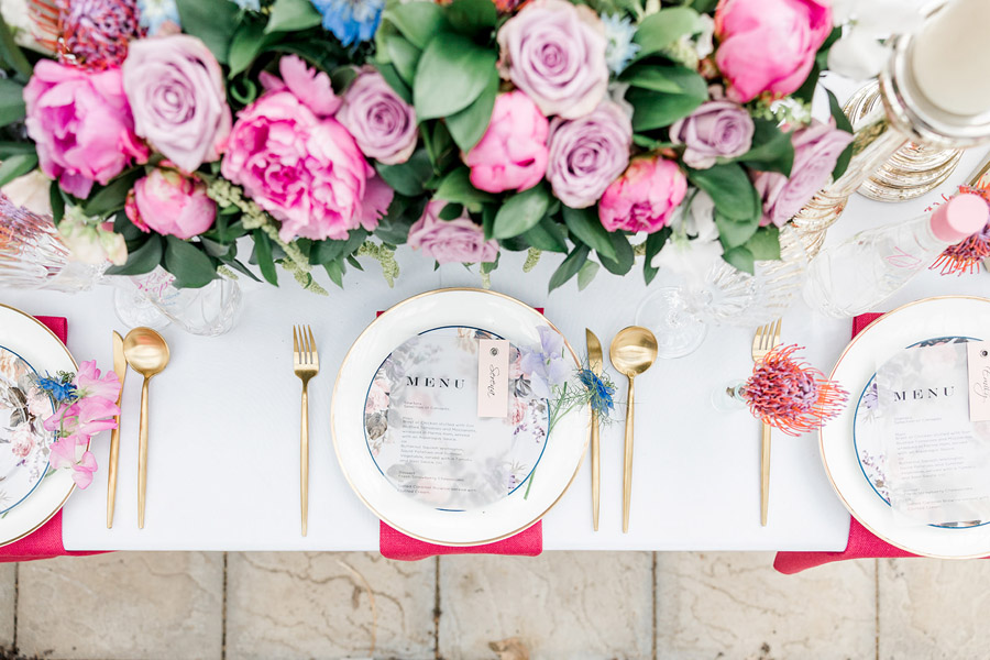 Modern intimate wedding styling inspiration from Slindon House, image credit Kelsie Scully (14)