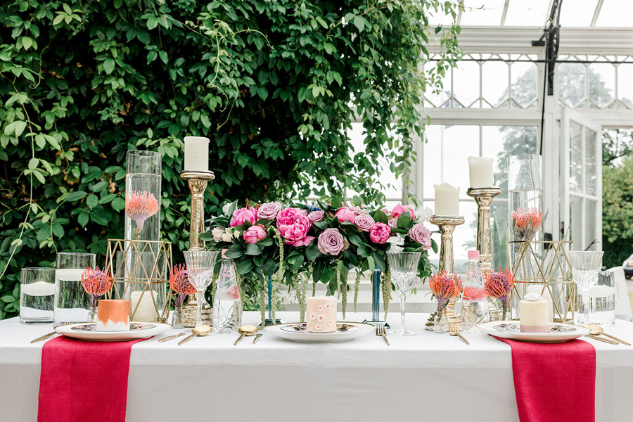 Modern intimate wedding styling inspiration from Slindon House, image credit Kelsie Scully (23)