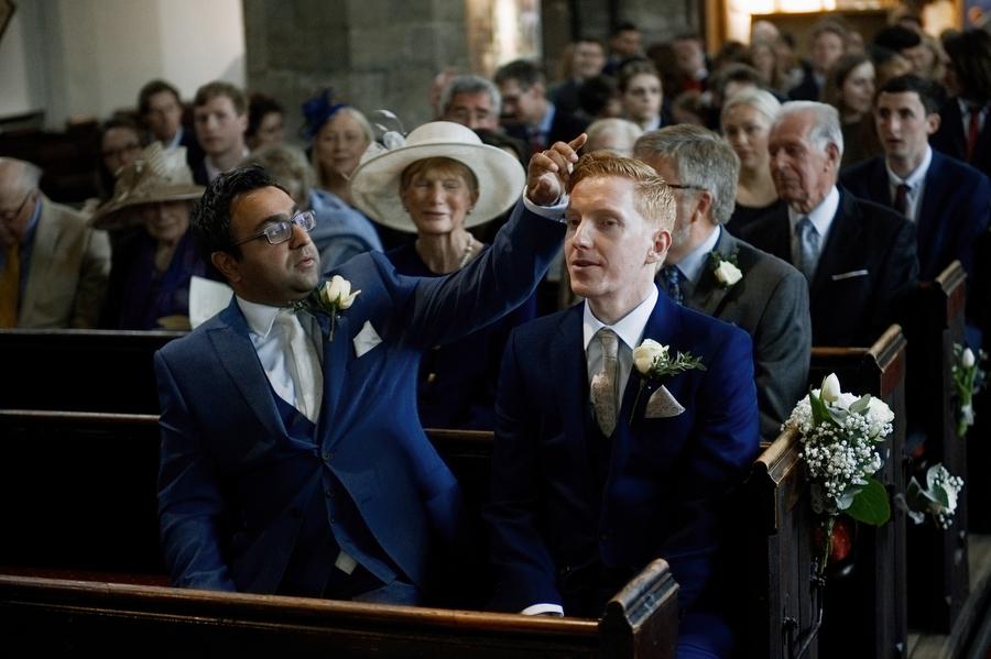 Adwoa & Jonny's unique and eclectic York Hospitium wedding, with Bethany Clarke Wedding Photography (5)