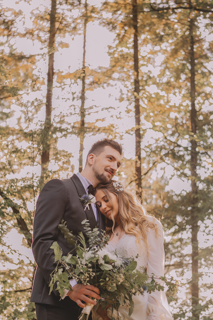 Promise me - lush green Italian wedding inspiration with an AMAZING sunset (20)