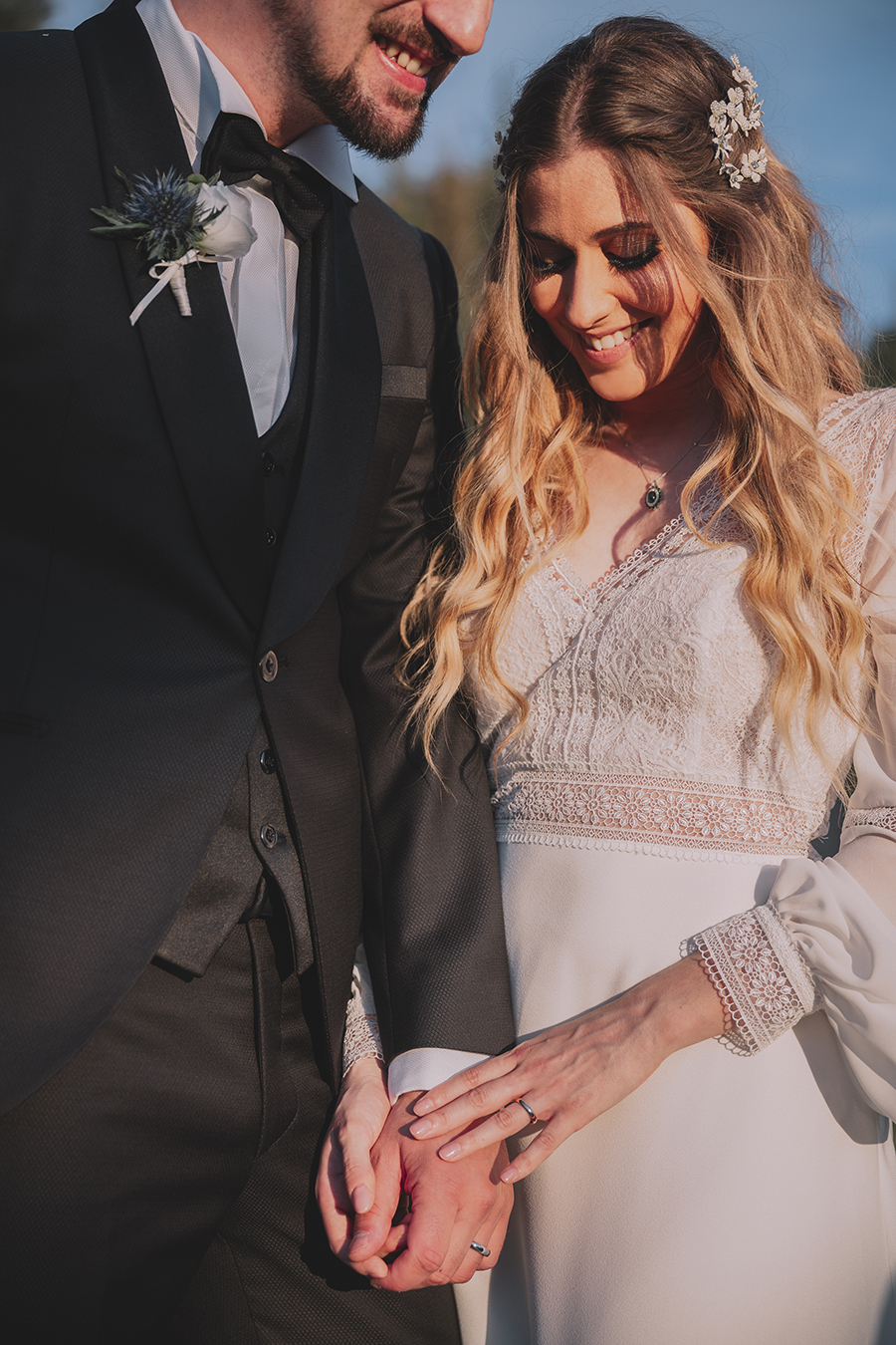 Promise me - lush green Italian wedding inspiration with an AMAZING sunset (23)