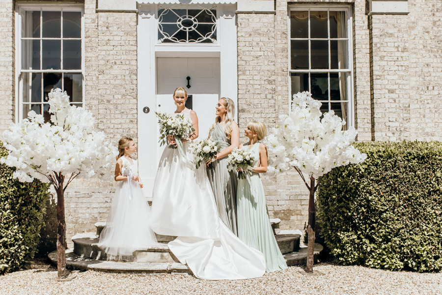 Luxe style inspiration for a small wedding, from Barnston Lodge. Photography credit Kate Boston (1)